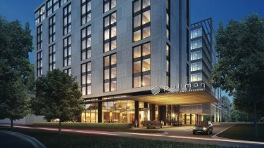 Nanshan Group has bought the Pullman hotel under development near Sydney Airport for $84 million.
