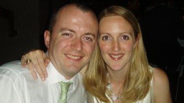 Katrina Dawson and her husband, Paul Smith.