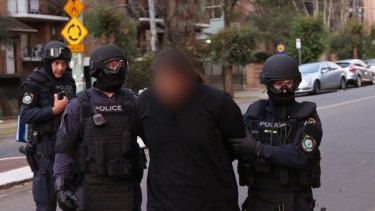 Joint Counter-terror raids following the 2015 Parramatta shooting.
