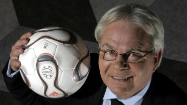 "Les Murray, says a former colleague, ""wanted football to unite us""."