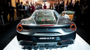 The Ferrari 488 GTB: Demand has been accelerating as confidence levels rise among small-to-medium-sized business owners.