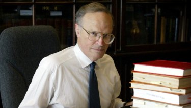 Trade unions royal commission hangs by a thread: Dyson Heydon