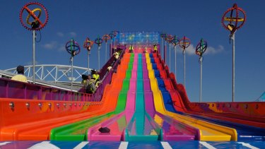 The Super Slide at the Royal Easter Show.