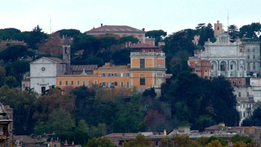 Janiculum Hill in Rome where the Australian Catholic University has a joint campus with the Catholic University of America.