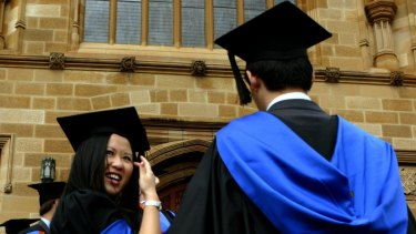 """Employers are far more happy with graduates from smaller universities than those from the bigger """"group of eight"""" institutions."""