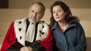 Sidse Babett Knudsen and Fabrice Luchini star in Courted.