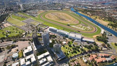Flemington racecourse could get lights under the revamp.