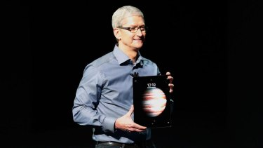 Apple chief executive Tim Cook met the EU's competition commissioner.