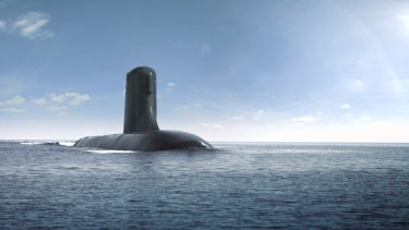 Australia's new fleet of submarines are being designed in France.