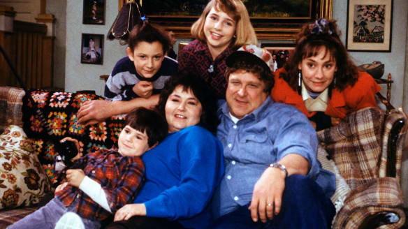 The Conner family, as they appeared in the original series.