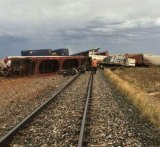 A train derailment east of Kalgoorlie has blocked deliveries in and out of WA since Friday.