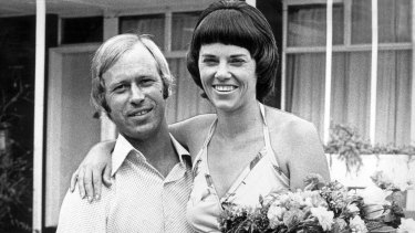 Michael and Lindy Chamberlain in the 1980s.