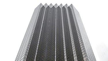 Trump Tower, a 58-storey New York skyscraper that is home to President-elect Donald Trump and his family.