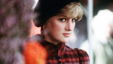 The late Diana, Princess of Wales.