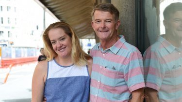"""Good for everyone"": Ron Prince and his daughter Belinda."