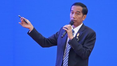 Indonesia's President Joko Widodo has defended the executions of seven foreigners by firing squad as following the law of the land.