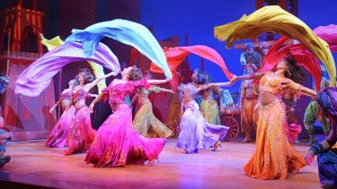 The Australian production of Disney's Aladdin will have two performers from Broadway in lead roles.