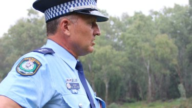 Acting Inspector Phil Malligan from Wagga Police.