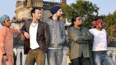 The Three Seas are Matt Keegan, Steve Elphick, singer Raju Das Baul, Deo Ashish Mothey and Gaurab Chatterjee.