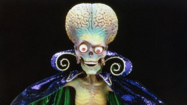 The aliens from <i>Mars Attacks!</i>.