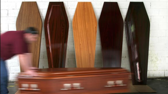 How the funeral industry preys on grieving families a study has found that the average basic funeral in australia costs about 6000 solutioingenieria Images