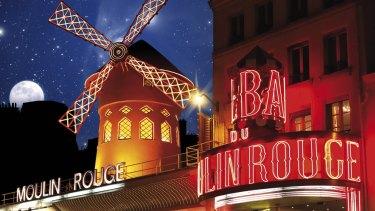 The Moulin Rouge is a popular destination for tourists visiting Paris.
