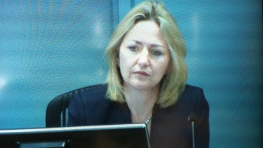 Margaret Cunneen argues the Independent Commission Against Corruption was acting outside its powers in investigating advice she allegedly gave her son's girlfriend after a vehicle crash.