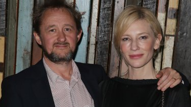 Working parents: Andrew Upton and Cate Blanchett.