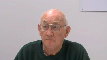Gerald Ridsdale: Presenting himself to the royal commission as a man whose memory is gone.