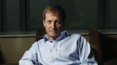 Tony Blair's former communications guru Alastair Campbell.