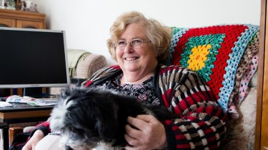 Margaret Lewis says that on her fixed pension, she struggled to pay increasing rents.