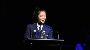 Presbyterian Ladies College school captain Natalie Liu achieved a perfect IB study score of 45.