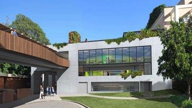 Wenona's new STEM building
