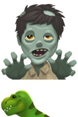 The zombie emoji is coming soon.