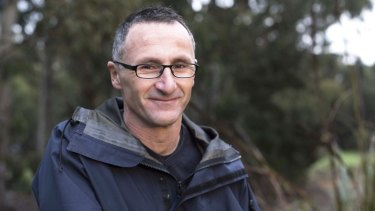 Doctor in the house: Richard Di Natale, the new leader of the Australian Greens.