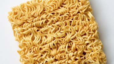 The highest demand for instant noodles come from China, 40 billion serves per year, and Indonesia, 12.5 billion serves.