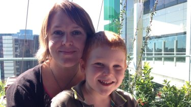 Six-year-old Ben Cox -pictured with his mum, Louise, lives without a spleen.