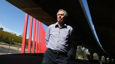 CityLink engineer Alan Hale says public transport is the answer to Melbourne's traffic congestion.
