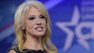 White House counsellor Kellyanne Conway has assets between $US10 million and $US39 million.