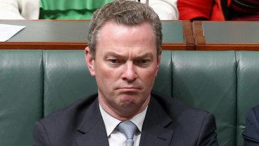 Threats backfired: Education Minister Christopher Pyne