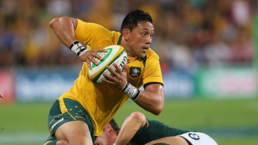 Christian Lealiifano is in remission and has returned to Canberra after a successful 100-day stint in Melbourne.