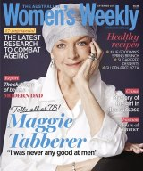 Maggie T's final cover for <i>The Australian Women's Weekly</i>.