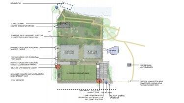 The now defunct plan for CBIC's East Brisbane development.