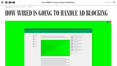 <i>Wired</i> editors explained the move in a note to readers.