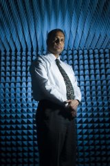 """""""You can pay as you walk out. Technology now makes this possible"""": Associate Professor Nemai Karmaka."""