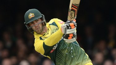 Back in contention: Glenn Maxwell.