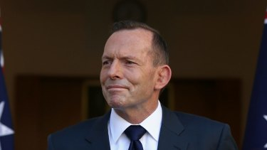 """""""The top job has never been less secure"""": former prime minister Tony Abbott."""