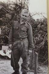 Doug Callum in Vietnam in 1968.