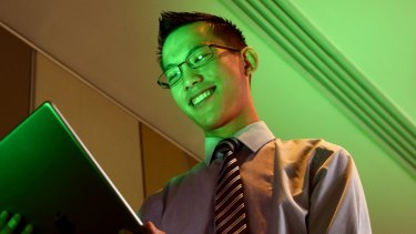 Maths teacher Eddie Woo from Cherrybrook High School.