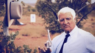 Screen grab from Bob Katter's latest campaign ad.